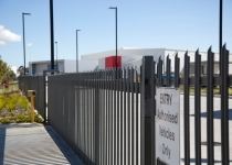 Palisade security fencing